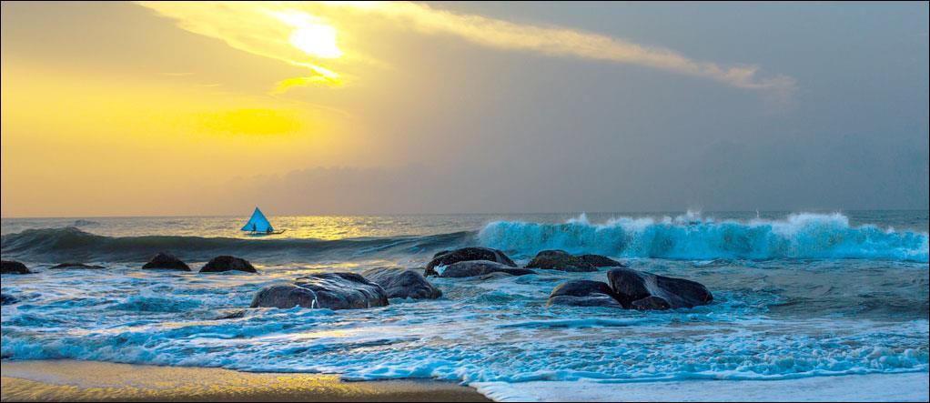 Covelong Beach Tamil Nadu