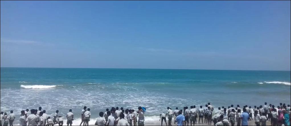 Dhanushkodi Beach