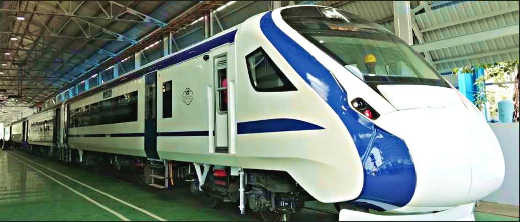 Indian Engineless Train